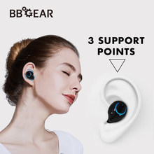Q18 Bluetooth 4.1 TWS Bluetooth Headset w/Charging Box Mini Stereo Sports Earbuds w/Mic Sports Headphone for iPhone Samsung(China)