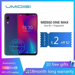 UMIDIGI 4GB Adaptive Fast Charge Octa Core Face Recognition New Smartphone NFC Charging-Face-Id