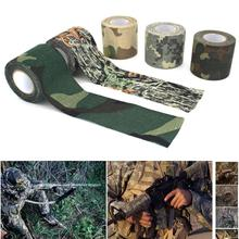 Wrap-Tape Hunting Camouflage Bandage Disguise-Tape Sports-Protector Finger-Arm Self-Adhesive