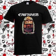 Caifanes-camiseta negra con Logo para hombre, ropa con portada de álbum, talla S-3XL