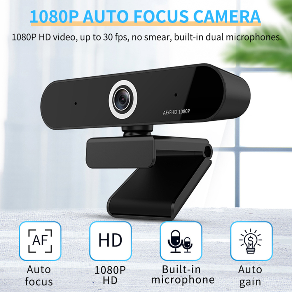 1080P Webcam with Mic Stream Webcam Computer Camera for PC Laptop Video Conferencing Recording Streaming SGA998