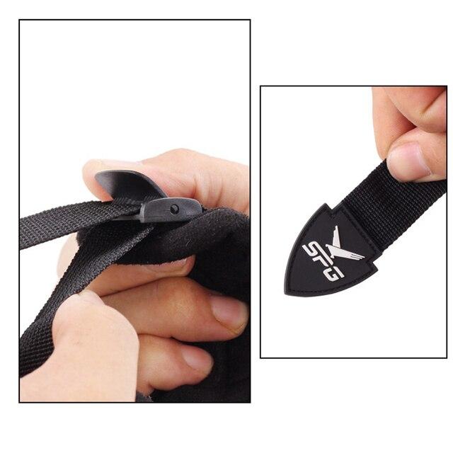 Elong Outdoor Black Color Archery Caliper Release Aid Compound Bow Strap Shooting Pro Arrow Trigger Wristband 4