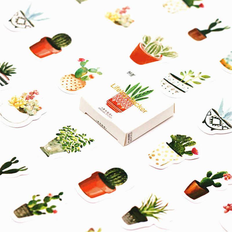 40 Stks/partij Kawaii Groene Bladeren Muur Sticker Mooie Vlinder Voor Kinderkamer Muurstickers Home Decoratie Op De Muur