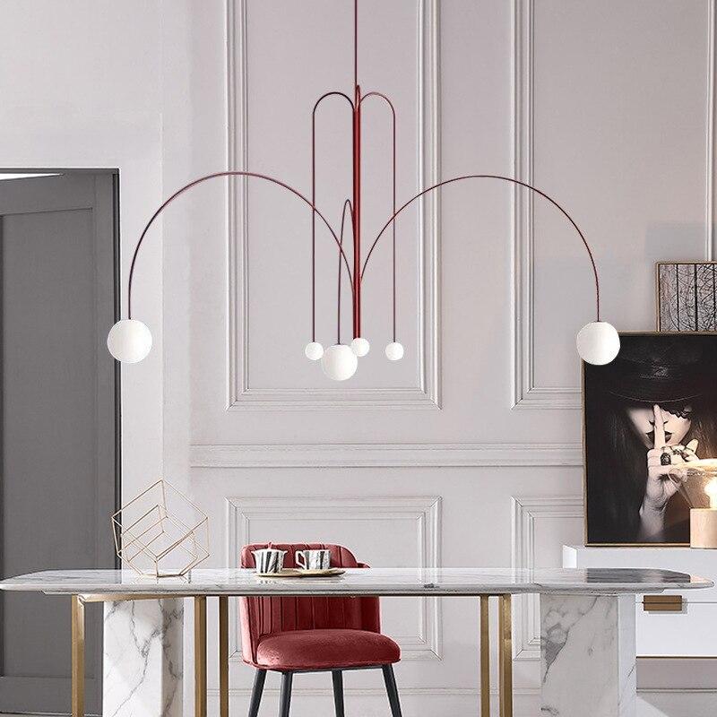 Modern Lampen Industrieel Luminaire Suspendu Iron LED  Pendant Lights  Restaurant  Pendant Lights Hanglamp