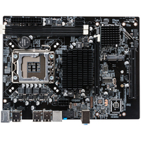 Office USB Ports Desktop Powerful Professional Computer Motherboard Main Large Memory Capacity Dual Channel For LGA 1366 DDR3