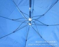 Tubo de pintura de cozimento dois dobrado guarda chuva de pesca dobrável estilo universitário chui diao san college estilo uv proteção guarda chuva de pesca|Holofotes| |  -