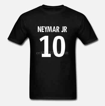 Camiseta Neymar Jr 10 para jugador de Club, camiseta para Niños disponible en color blanco marino, camiseta de orgullo informal, moda Unisex para hombres