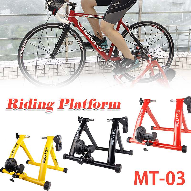 Home Training Indoor Exercise Bike Trainer 6 Speed Magnetic Resistance Bicycle Trainer Road MTB Bike Trainers Cycling Roller