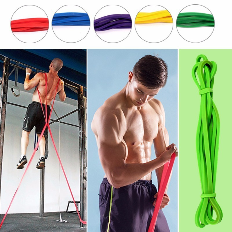 Resistance Loop Bands Elastic Band Equipment Gum for Fitness Training Pull Rope Rubber Bands Sports Yoga