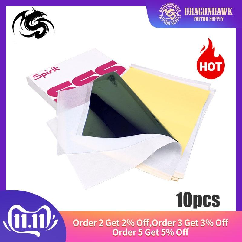 Tattoo Stencil Transfer Carbon Paper Top 10 Pcs A4 Size Tattoo Supply WS011*10