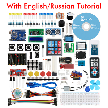 Keywish Starter Kit for Arduino UNO R3 IDE Diy Kit support Mixly,Mblock Scratch with 30 English/Russian Courses