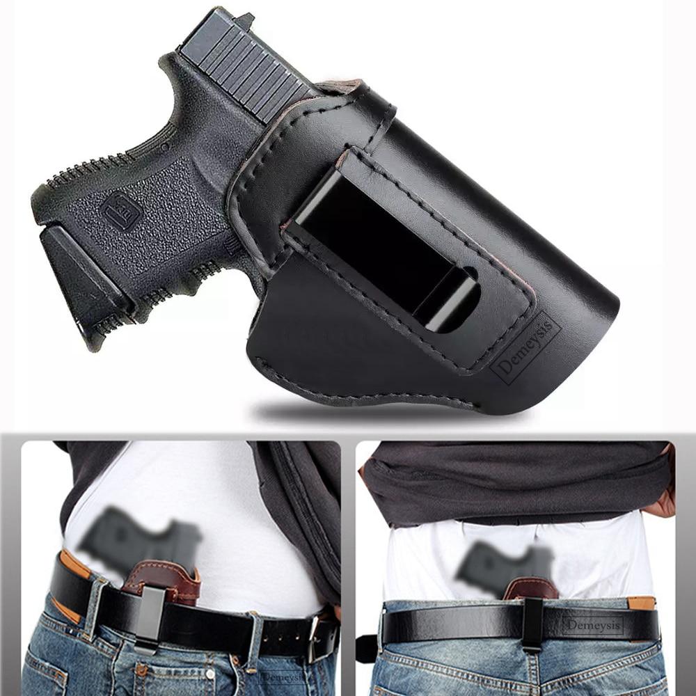 Funda de pistola táctica para Taurus G2C, Sig Sauer P226 SP2022 Glock 17 19 21 23 26, funda oculta para pistola de caza IWB