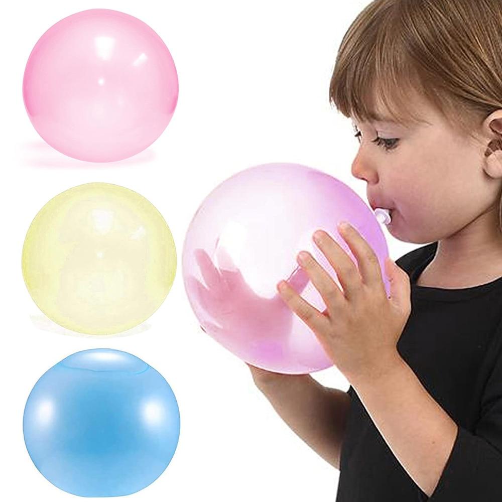 Надувной шар для детей, надувной шар для дома, для улицы, надувной шар для игры, мягкий воздушный шарик для наполнения водой, надувной шар, надувной шар, игрушка|Мячики|   | АлиЭкспресс