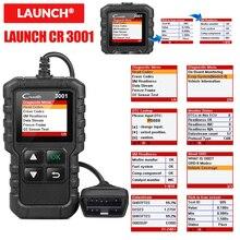 LAUNCH X431 CR3001 USB تحديث مجاني OBD2 ماسح الرادار الخاص بالسيارة OBD 2 محرك رمز القارئ Creader 3001 أداة تشخيص السيارات PK CR319 الدردار 327