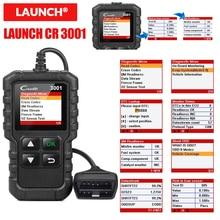 Lançamento x431 cr3001 usb atualização gratuita obd2 scanner do carro obd 2 leitor de código do motor creader 3001 ferramenta de diagnóstico automático pk cr319 elm 327