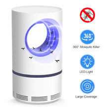 2019 NEW Electric Mosquito Killer Lamp USB Power Anti-mosquito zapper Trap LED Night Light Lamp Bug Insect Killer Light Repeller(China)