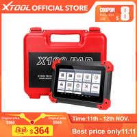 X100 PAD OBD2 programmeur de clé automatique Scanner de Diagnostic lecteur de Code automobile IMMO EPB DPF BMS remise à zéro odomètre EEPROM mise à jour en ligne