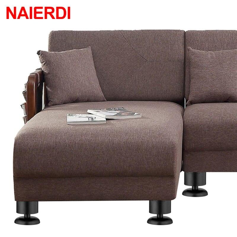 Naierdi 1 шт мебель регулируемые ножки шкафа 6 см 30 из нержавеющей