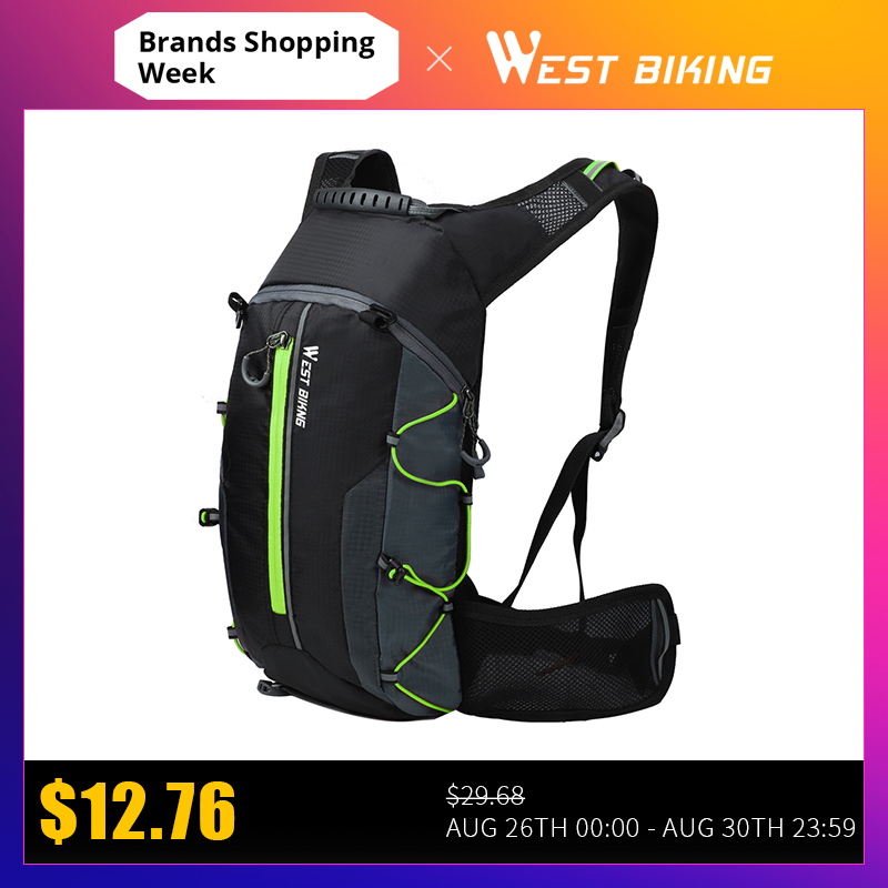 Bike-Bag Cycling-Backpack Bicycle West Biking Folding Waterproof Portable Ultralight