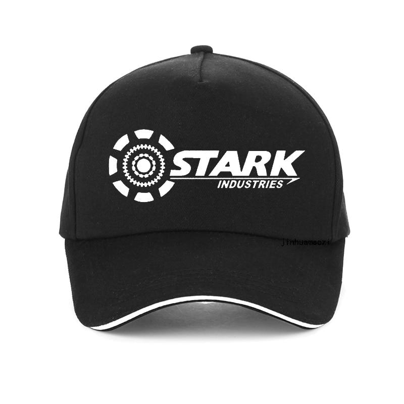 Iron Man men hat Tony Stark Industries Super Hero baseball cap Cotton Casual Men dad cap 2020 Summer snapback hat bone