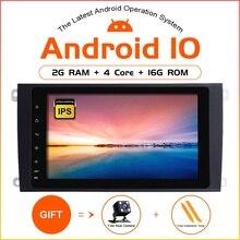 ZLTOOPAI Android 10 Car Multimedia Player Per Porsche Cayenne 2 Din GPS Per Auto Radio Stereo di Gioco Auto IPS DSP