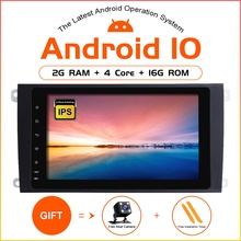 Zltoopai Android 10 Auto Multimedia Speler Voor Porsche Cayenne 2 Din Auto Gps Radio Stereo Auto Spelen Ips Dsp