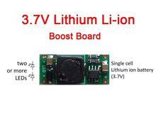 XL6003 3.7V Li Ion 18650 Batteria Al Litio Step up Boost Corrente Costante HA CONDOTTO il Driver Boost Modulo di Bordo