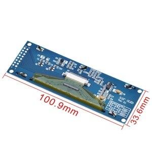 Image 5 - ЖК дисплей TZT с реальным OLED дисплеем 3,12 дюйма, 256*64, 25664 точек, графический модуль, экран LCM, экран SSD1322, контроллер с поддержкой SPI