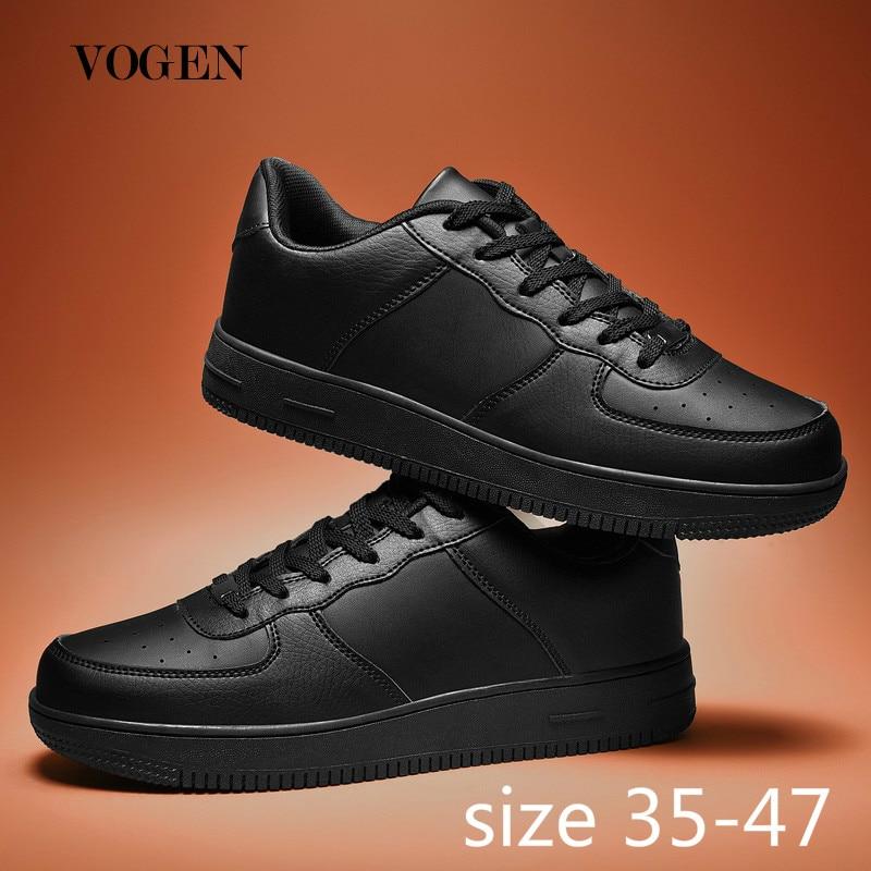 Sapatos de lona dos homens tamanho grande 47 casais branco tênis plataforma sapatos de treinamento nova moda luz 2019 casal chaussure homme