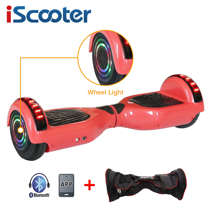 iScooter Self Balancing Hoverboard or two-wheel Skateboard with LED Light 7