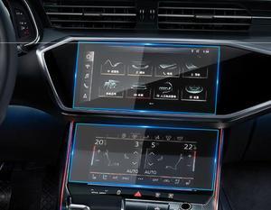 Автомобильная навигация с закаленным стеклом, защитная пленка, стикер, радио, GPS, ЖК-дисплей, Защитная панель для Audi Q8, A6, A7, 2019, 2020