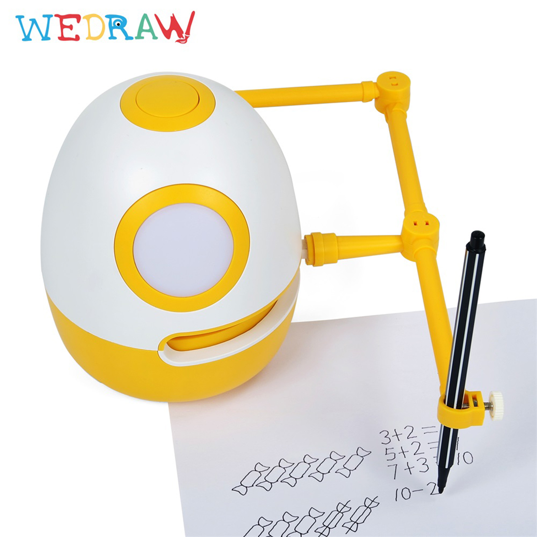 wedraw eggy criancas desenho robo genio kit aprendizagem tecnologia educacional brinquedos eletronicos animais de estimacao brinquedos