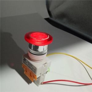 Новый красный гриб Cap1NO 1NC DPST Аварийная остановка кнопочный переключатель переменного тока 660 В 10 А переключатель оборудование лифт с фиксацией самоблокирующийся