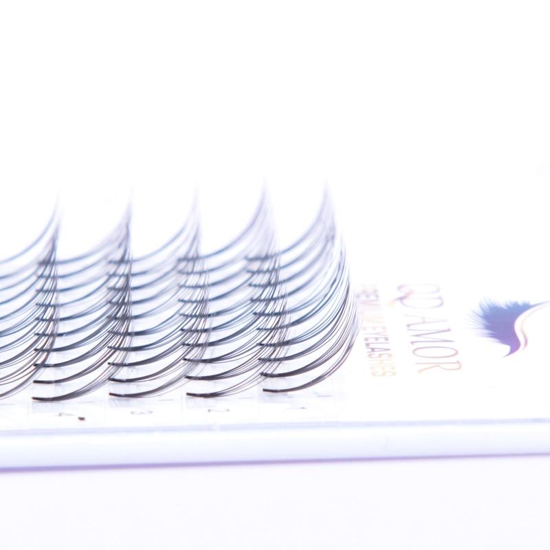Big SaleⁿRussian-Volume-Eyelashes Curl Pre-Made Fans Short-Stem Mink-Lash-Extension 20cases/Lot≡