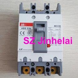 LS ABS53b аутентичный Оригинальный ABS 53b трехфазный Литой чехол автоматический выключатель 3P 20A/30A/40A/50A