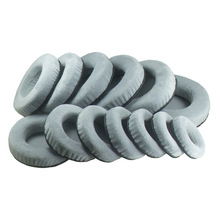 60mm 65mm 70mm 75mm 80mm 85mm 90mm 95mm 100mm 105mm 110mm 115mm 120mm For All Earphone Set Velvet Ear Pads Comfortable Grey Yw#