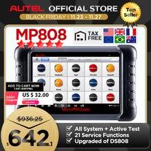 Autel MaxiPRO MP808 Công Cụ Chẩn Đoán OBD2 Chuyên Nghiệp OE Cấp OBDII Chẩn Đoán Công Cụ Khóa Mã Hóa PK Autel AP200 MK808 MK808TS