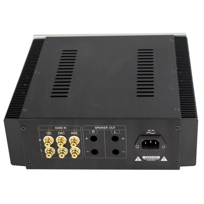 Wa17 all-aluminum audio amplificador chassi 260*270*90mm classe a pré-amplificador chassi
