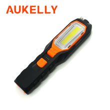 1000Lm LED COB Worklight USB Rechargeable Working Flexible Magnetic Inspection Lamp Emergency Flashlight Repair Light