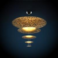 Nordic Luxury Gold Pendant Lights Retro Design Home Decor LED Living Room Pendant Lamp Coffee Store Hanglamp Kitchen Fixtures