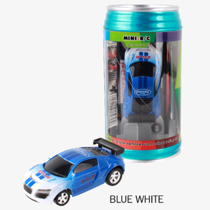8Colors Coke Can Mini RC Car Electronic Cars Radio Remote Control Micro Racing Car High Speed Vehicle Gifts For Kids Rc