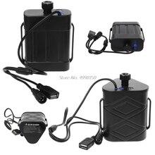 עמיד למים 2x 26650/8.4V 3x 18650/26650/12V סוללה אחסון תיבת כוח נייד בנק אחסון תיבת USB מטען עבור smartphone