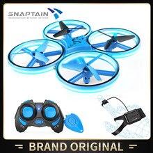 SNAPTAIN SC300MQ Mini Drone obsługiwany ręcznie zdalnie sterowany Quadcopter dla dzieci zdalny Dron zabawka helikopter 3D odwraca tryb bezgłowy wysokość trzymaj