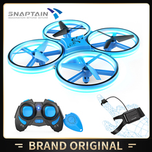 SNAPTAIN SC300MQ Mini Drone Hand Operated RC Quadcopter For Kids Remote Dron Toy Helicopter 3D Flips Headless Mode Altitude Hold