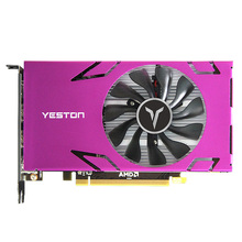 Yeston R7 350-4G 6HDMI 800/4500MHz 4G/128Bit/GDDR5 VGA + HDMI + DVI-D pci-express 3.0X16 jeu Six-Sn carte ie