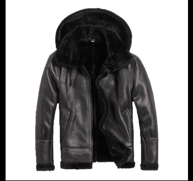 Free Shipping,Sheep Fur Jackets,wool Sheared Fur Leather Clothing,men's Warm Jacket,men's Winter Coat.plus Size  Jackets.