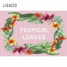 Виниловый фон для фотосъемки laeacco с мультяшными тропическими