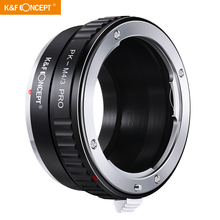 K&F Concept Lens Mount Adapter with Light reducing Paint for Pentax K PK Lens to Micro 4/3 M4/3 Mount Adapter G10 G3 GF3 GF1