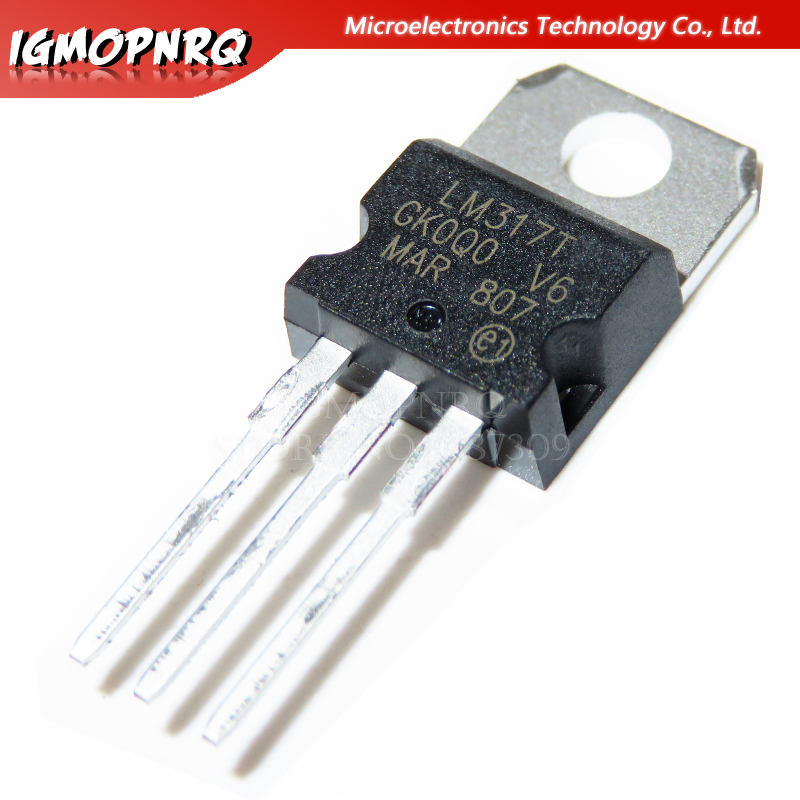 10pcs LM317 LM317T T0-220 Adjustable P Three-terminal Regulator New Original