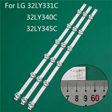 LED TV Illumination Part Replacement For LG 32LY340C UA 32LY345C ZA 32LY331C ZA LED Bar Backlight Strip Line Ruler DRT3.0 32 A B